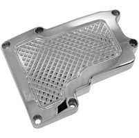 Eddie Trotta Designs Chrome Cross Cut Transmission Top Cover