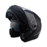 LS2 FF386 Matte Black Modular Helmet
