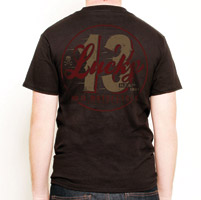 Lucky-13 Men′s Last Lap T-shirt