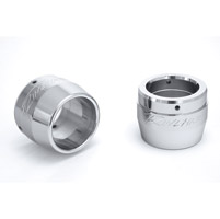 Rinehart Racing 2-1/2″ Chrome End Caps