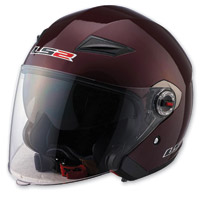 LS2 OF569 Wineberry Open Face Helmet
