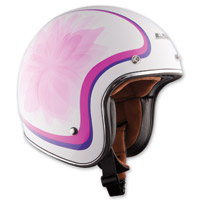 LS2 OF583 Glow White Open Face Helmet