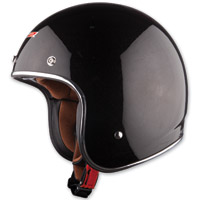 LS2 OF583 Bobber Black Open Face Helmet