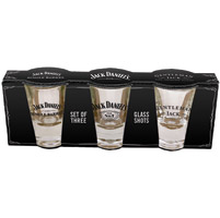 Jack Daniel's Collector's Edtion 3 pc. Shot Glass Set