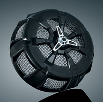 Kuryakyn Alley Cat Gloss Black  Air Cleaner Cover