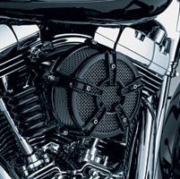 Kuryakyn Black Mach 2 Co-Ax Air Cleaner Kit
