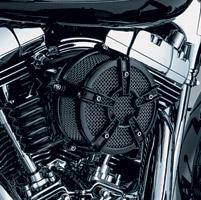 Kuryakyn Black Mach 2 Co-Ax Air Cleaner Kit