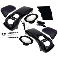 Hogtunes Saddlebag Speaker Lid Kit With Speakers