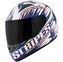 Speed and Strength SS1100 Stars and Stripes Red/White/Blue Full Face Helmet