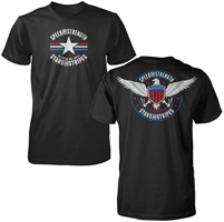 Speed and Strength Stars and Stripes Short Sleeve Mens T-shirt