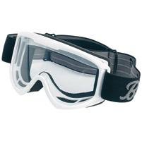 Biltwell Inc. Moto White Goggles