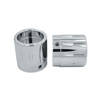 Avon Grips Chrome Rival 7/8″ Axle Nut Covers