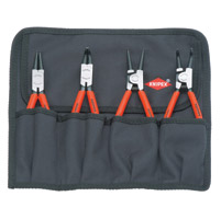 Knipex Snap Ring Plier Kit - Straight and Bent Tips
