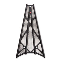 Battistinis Wireframe Black Anodized/Chrome Frame Grilles