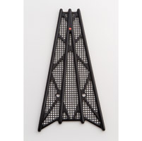 Battistinis Wireframe Black Anodized Frame Grilles