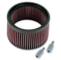 S&S Cycle Stealth 1″ Taller Replacement Filter with Spacers