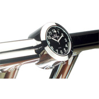 Marlin's Big Paul's Cycle One-Piece Handlebar Mounted Clock