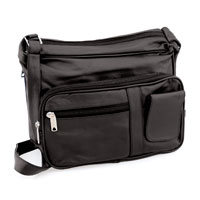 Allstate Leather Inc. Ladies Leather Concealment Purse