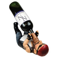 Pacific Trading Biker Guzzler Wine Holder
