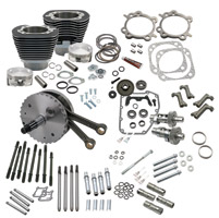 S&S Cycle 124″ Wrinkle Black Hot Set-Up Kit
