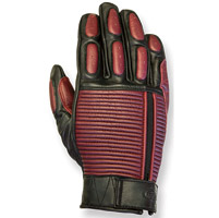 RSD Apparel Dezel Oxblood/Black Leather Gloves