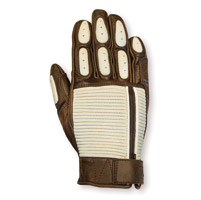 Roland Sands Design Men's Dezel Sand/Tobacco Leather Gloves