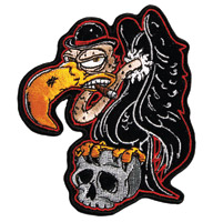 Hot Leathers Buzzard Embroidered Patch