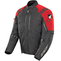 Joe Rocket Men′s CBR Textile Red and Black Jacket
