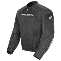 Joe Rocket Honda Men's CBR Mesh Black Jacket