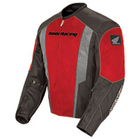 Joe Rocket Honda Men's CBR Mesh Red/Black Jacket