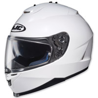 HJC IS-17 White Full Face Helmet