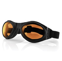 Bobster Bugeye Goggles with Amber Lens