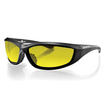 Bobster Charger Sunglasses with Yellow Lenses