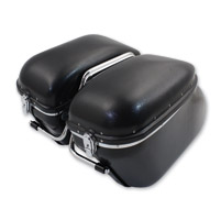 Replica ′Bubble′ Saddlebag Kit w/Brackets
