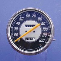 V-Twin Manufacturing Replica Speedometer