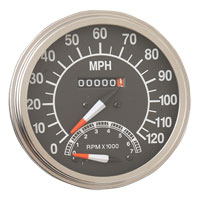 Drag Specialties FL-Style Speedometer