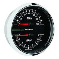 Auto Meter Black Face Speedometer/Tachometer