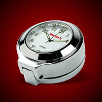 Marlin's Fork Lock Cover with Clock for Road King