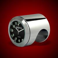 Marlin's Talon Handlebar Mount Clock