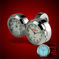 Marlin's Dual Mount Handlebar Clock and Thermometer