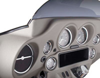 Hell's Foundry Meteor Gray SoftDash for FLHX Street Glide