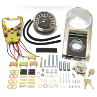 J&P Cycles® Die-Cast FLH Dash Kit