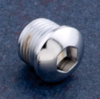 Biker's Choice Custom Oil Tank Drain Plug