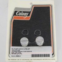 Colony Oil Pump Plug Set