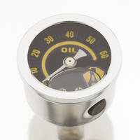 Arlen Ness Replacement Oil Pressure Gauge
