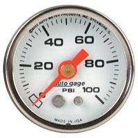 Auto Meter Oil Pressure Gauge