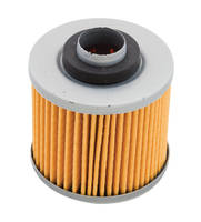Milwaukee Twins Black Cartridge Oil Filter for Yamaha