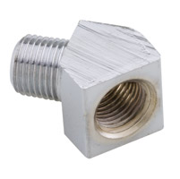 J&P Cycles® Chrome Oil Line Fitting