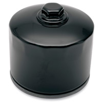 Milwaukee Twins Top Quality Black Oil Filter with Hex Top Nut