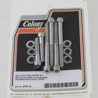 Colony Knurled Oil Pump Mount Kit